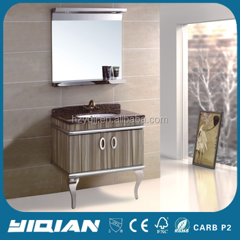 Hot Sale Home Bathed Vanity Cabinet For Bathroom Free Standing Hangzhou Factory Popular