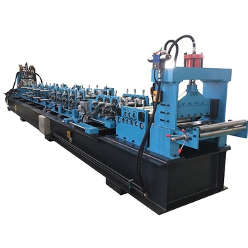 Building Material Machinery C Z Purlin Roll Forming Machine