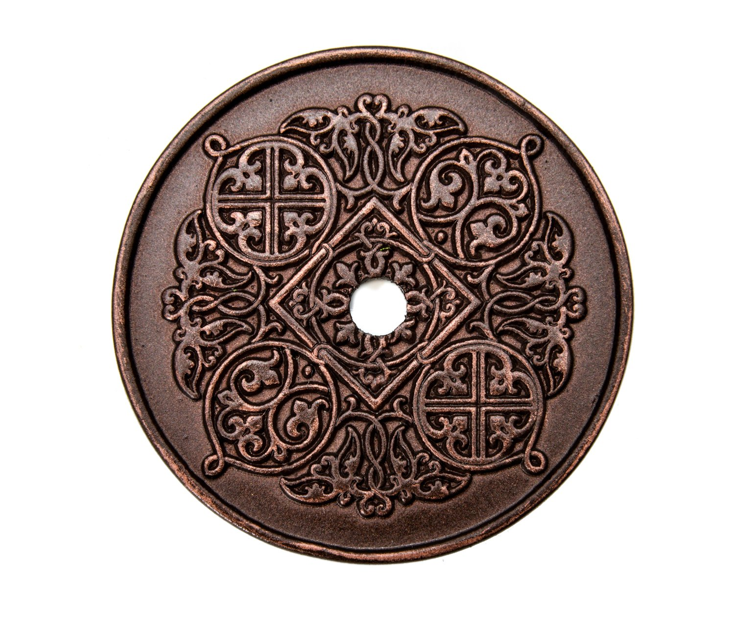 Carpe Diem Hardware Carpe Diem 307-22 Millennium Large round escutcheon Oil Rubbed Bronze Oil Rubbed Bronze