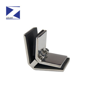 ss fittings stainless steel glass clamps for frameless glass railing