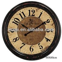 Latest European Style Antique Western Wall Clock