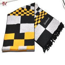 High Quality Alibaba China Silk Brushed Men's Scarf With Tassel