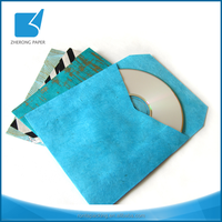 One side printing paper cover sleeve reusable cd cover