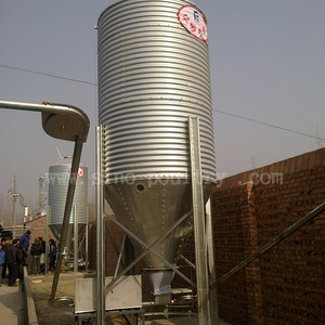 Poultry Farm Used Steel Feed Storage Small Silo