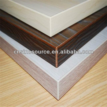 Laminated chipboard melamine particle board for cabinet for Particle board laminate finish