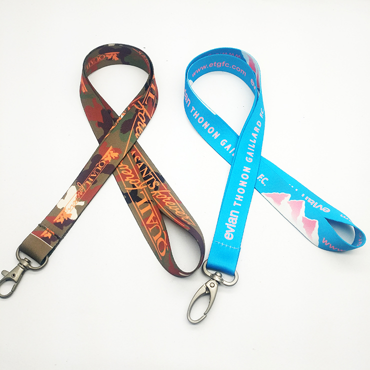 High Quality Custom Printing Fashion Logo Lanyard for Mobile Phone
