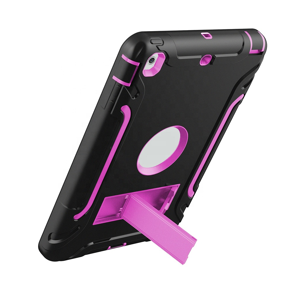 business style kickstand stand cases shockproof protective case for <strong>iPad</strong>