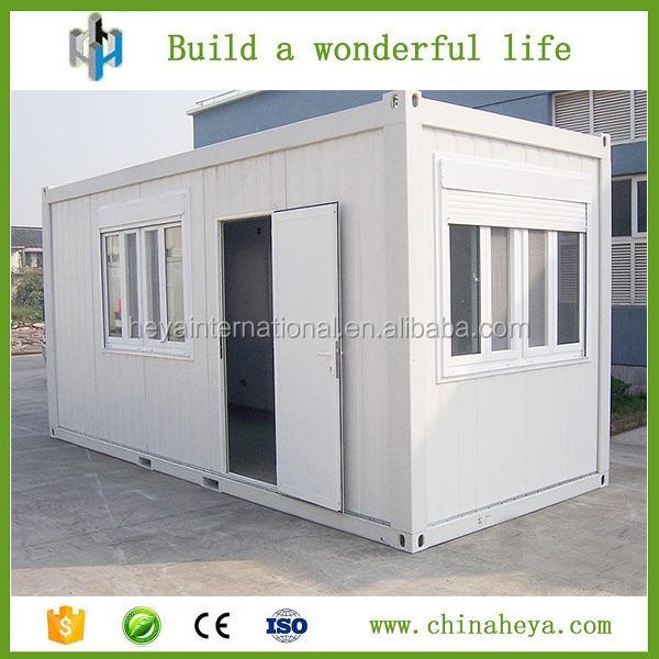 20ft container di trasporto di vetro casa prefabbricata - Casa container prezzo ...
