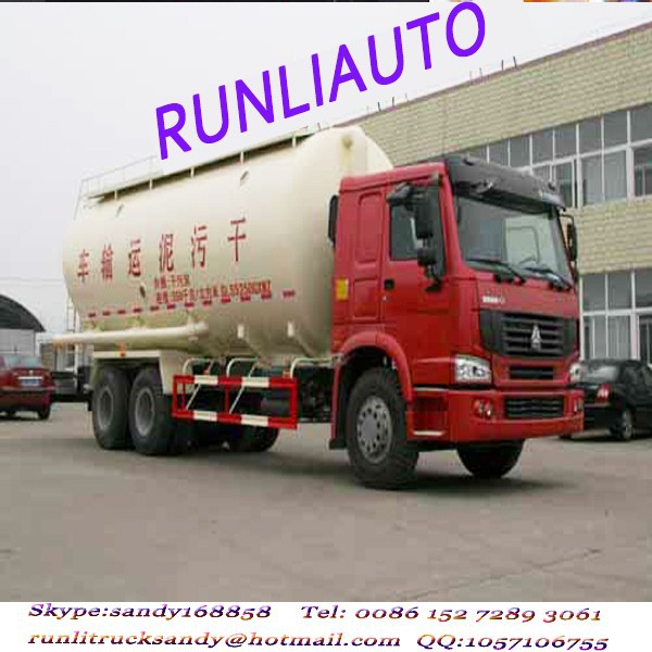 SINOTRUK HOWO 6x4 23000L sewage suction truck for exporting