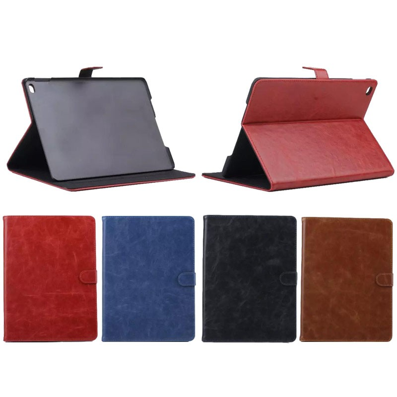 Factory Price Vintage Style Crazy Horse PU Leather Protective Cover for iPad Mini 4