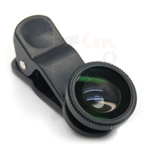 smartphone lens/camera 3 in 1 fisheye for nikon lens