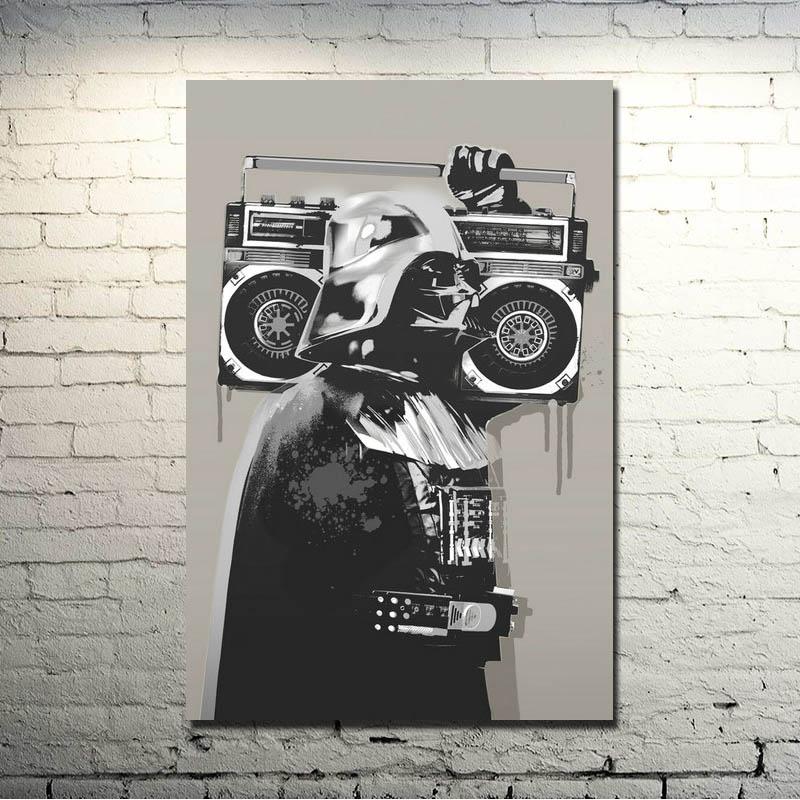 online kaufen gro handel banksy graffiti aus china banksy. Black Bedroom Furniture Sets. Home Design Ideas