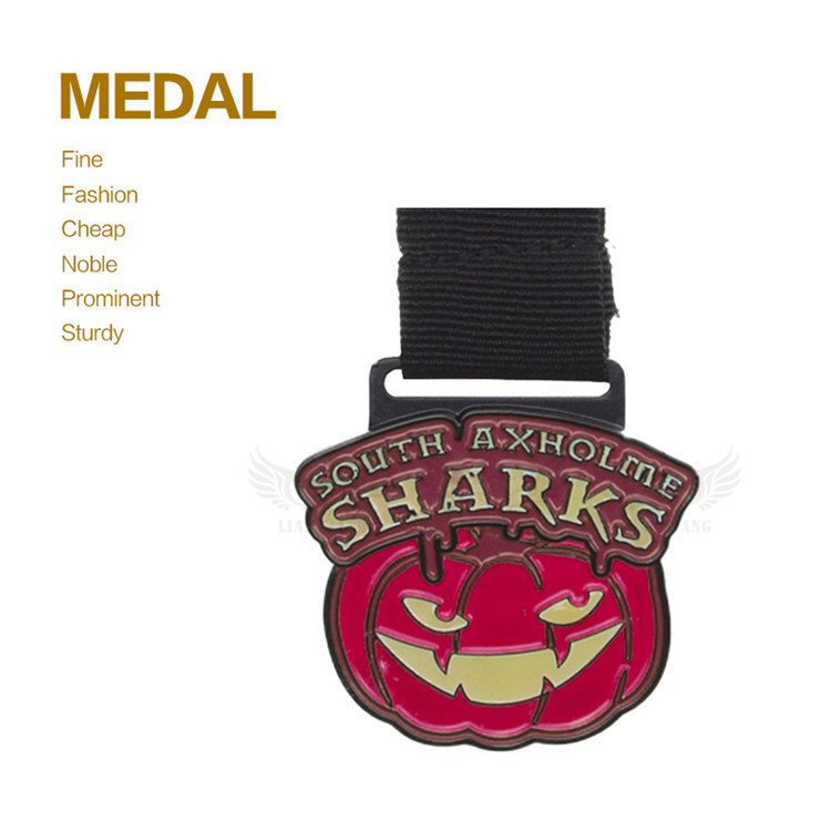 Promotion Metal Stamping Gold Medallion Pendant For Sports