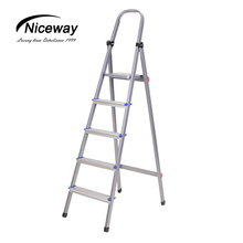 Aluminium Opvouwbare 4-5 Stap <span class=keywords><strong>Ladder</strong></span> Huishouden Multi Folding Flexibele <span class=keywords><strong>Ladder</strong></span>