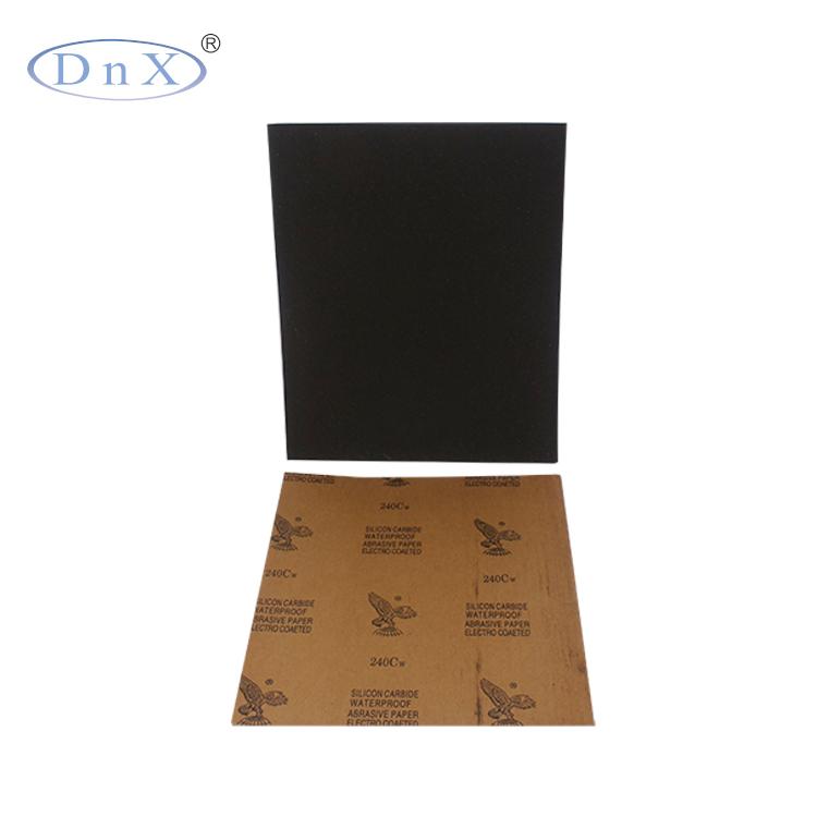 5 inch sandpaper waterproof abrasive