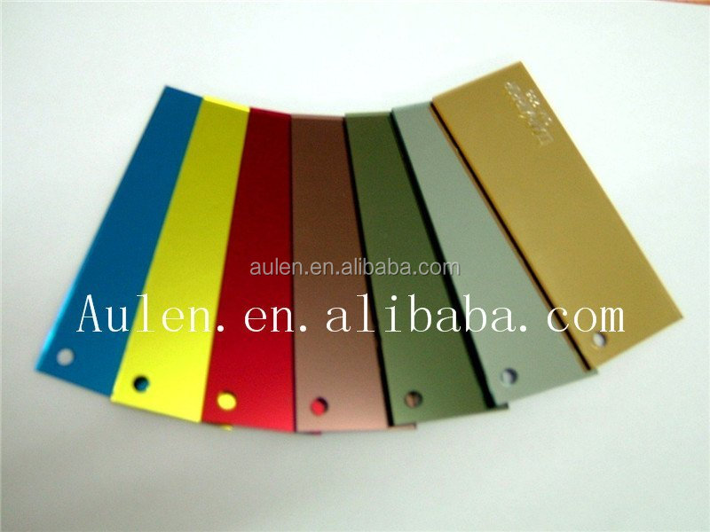 PMMA decorative plastic mirror, colored acrylic mirror, pmma mirror sheet from shenzhen China