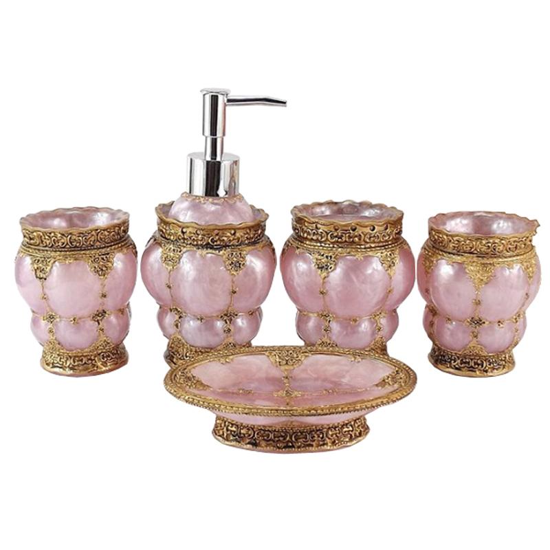 Elegant Bathroom Sets: High Quality Delicate Elegant Bathroom Accessories Set