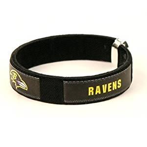 Baltimore Ravens NFL Fan Band Cuff Bracelet