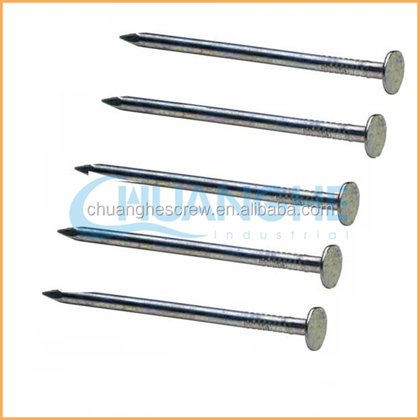 Manufacture high quality low price plastic cap iron nails/ dowel with plastic nails/ insulation fastening nails