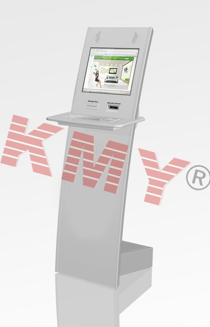 Slim design public touch screen information kiosk, kiosk in dubai