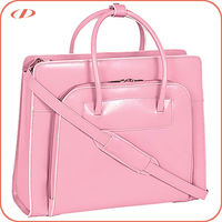 Designer high quality ladies leather briefcase