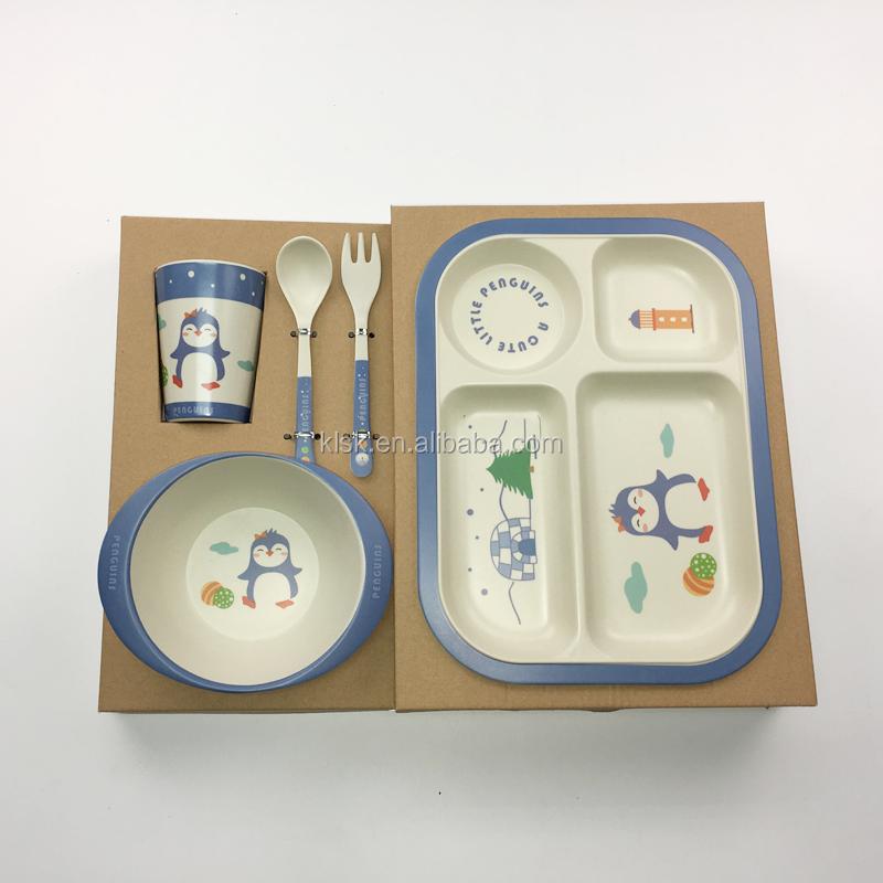 2pcs/set Lovely Print Cartoon Baby Kids Feeding Spoon High Quality Melamine Baby Spoon Flatware Feeding