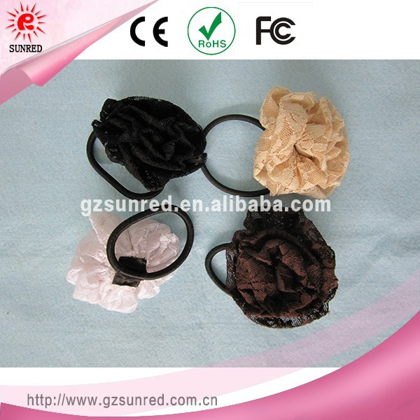 High quality factory direct wholesale fold over pony tail