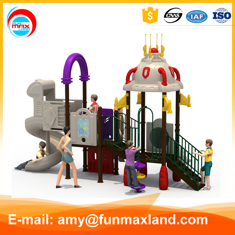 2016 Children garden Commercial cheap outdoor amusement games slide