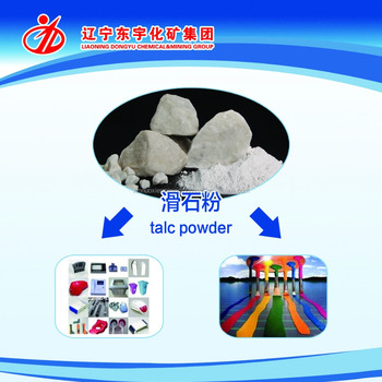Chinese Talc Powder Hs Code 2526.2020.90 Applied For Plastic ...