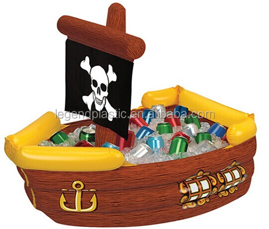 Inflatable Pirate Ship Drinks Cooler