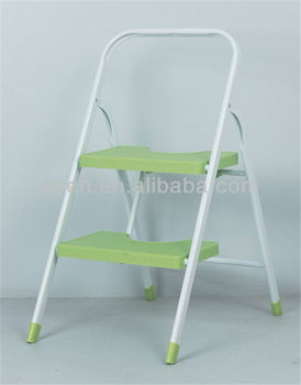2-tier Foldable Kitchen Step Ladder - Buy Kitchen Step Ladder,Wide Step  Ladder,Folding Kitchen Ladder Product on Alibaba.com