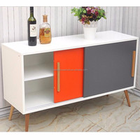 Dining room furniture extra long sideboard buffet cabinet
