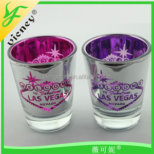 wholesale Las Vegas glass cup souvenir glass cups