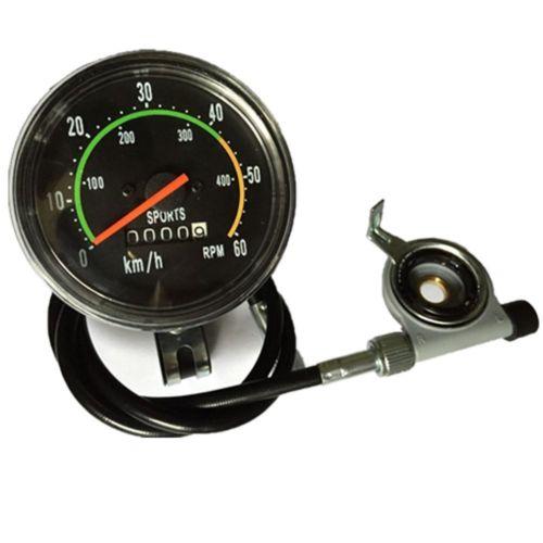 Yosoo New Analog Speedometer Odometer Classic Style for exercycle /& Bike