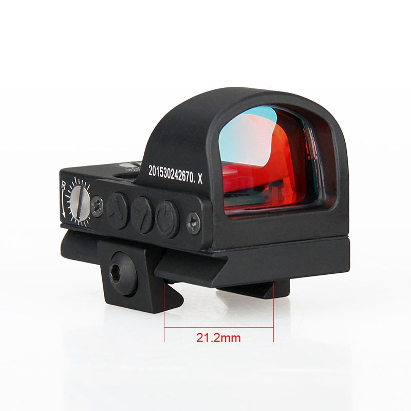GZ2-0078 wholesale military tactical airsoft gun accessories and hunting equipment rifle 2MOA mini smart red dot scope sight