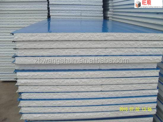 Metal Building Material Lightweight Fireproof EPS Sandwich wall Panel