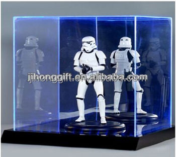 Hot Sale Led Acrylic Lighted Display Case For Hot Toys Buy Hot