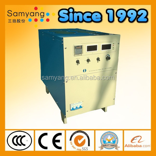 Switching mode AC DC aluminum anodizing power supply with good anodizing quality and low running cost