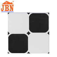 black and white ceramic wall tile types non slipery ceramic bathroom floor tiles