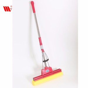 Trending Hot Steel Stick Squeeze Home Sponge Mops for Floor Cleaning