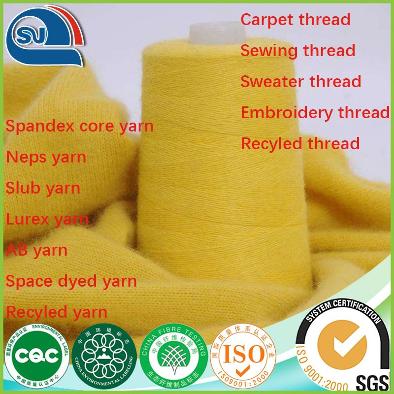 best quality sunday angora yarns in china supplier