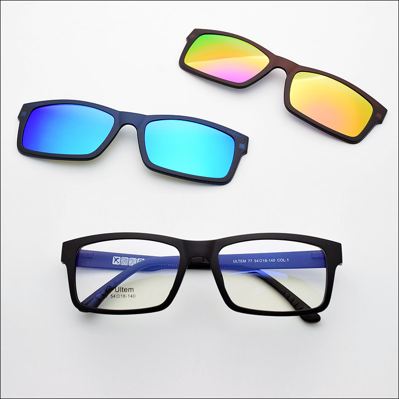 4ac7cae9998 Frame With Clip On Magnetic Polarized Sunglasses - Bitterroot Public ...