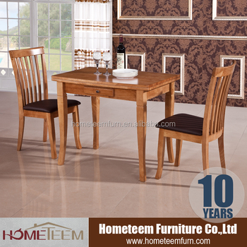 Save Space Rubber Wood  Seater Dining Table - Buy  Seater Wood