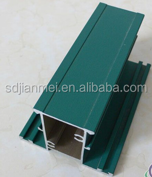 window and door use anodize aluminium profile, anodization treated aluminum