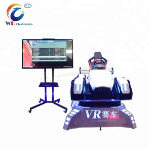 2018 Hot Sale Racing Cockpit 9D VR Car Racing Games Free Download Play 4DOF Racing Simulator For Sale