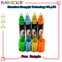 Fluorescent Liquid Chalk Multi-color Whiteboard Marker Pen Holder