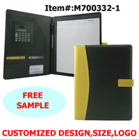 Embossing Conference A4 Document Leather File Folder