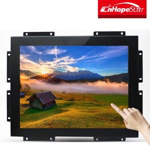 15 inch frameless lcd monitor industrial touch screen monitor