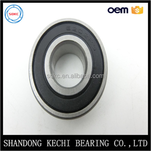 China Bearing Factory 6202 2RS Deep Groove Ball Bearing Size 15*35*11mm