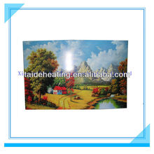 Carbon crystal electric heat painting